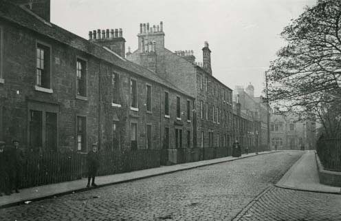 College Park Street, Dumbarton, about 1908