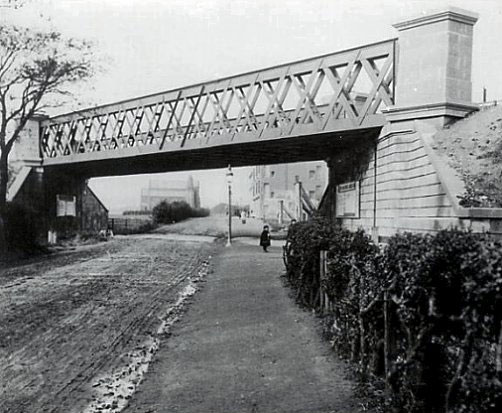 Railway Bridge over Dumbarton Road, Clydebank