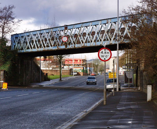Railway Bridge over Dumbarton Road, Clydebank, 2007