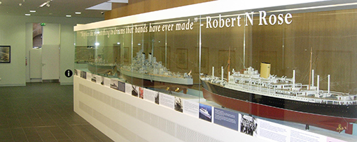 Ships Display at Clydebank Museum