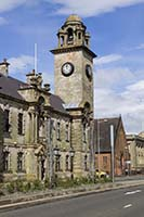Clydebank Town Hall.