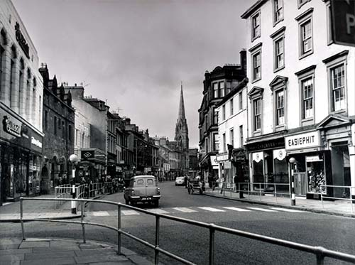Image result for dumbarton high street 1960s