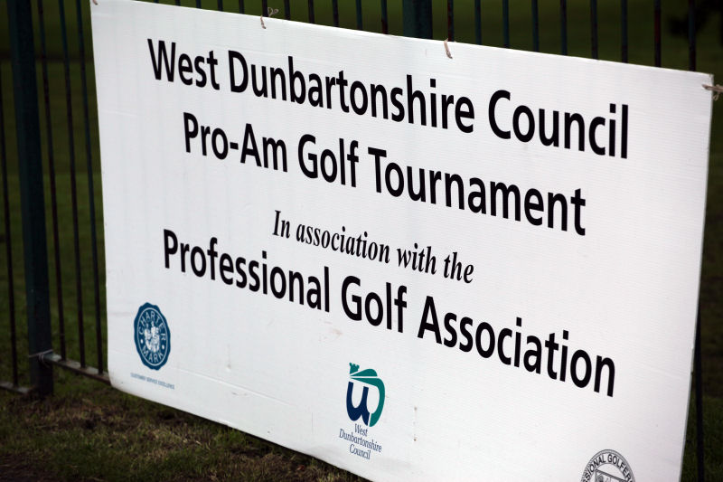 West Dunbartonshire Council Pro-Am Golf Tournament 1