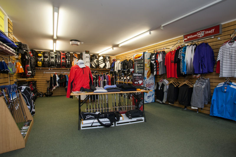 image of Inside the Pro Shop
