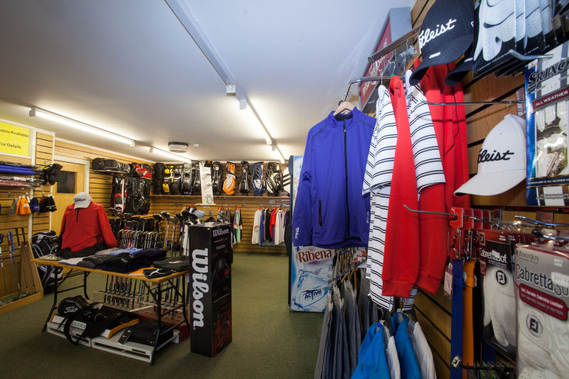 Inside the Pro Shop 8