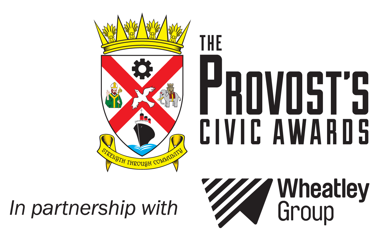 The Provost's Civic Awards in partnership with Wheatley Group - logos