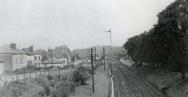 The Railway at Balloch, 1958