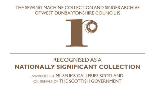 Recognised logo for museums galleries scotland