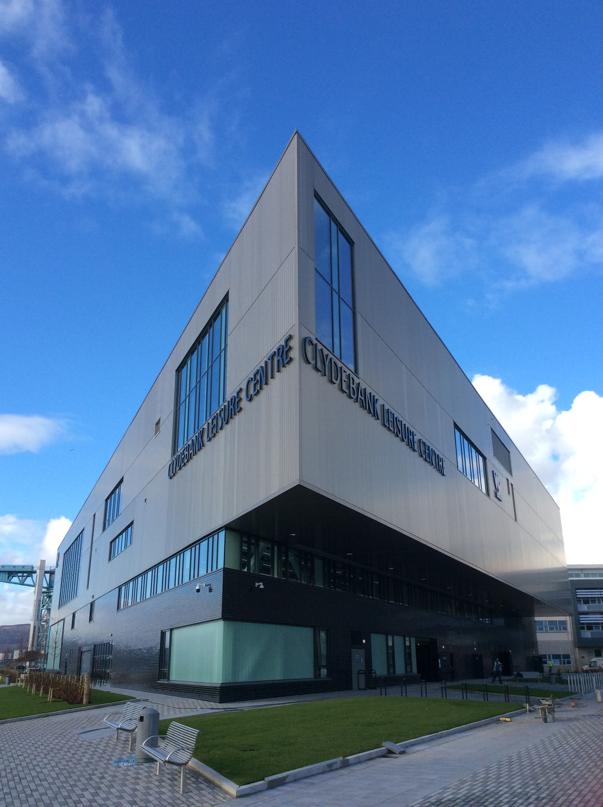 Clydebank Leisure Centre External