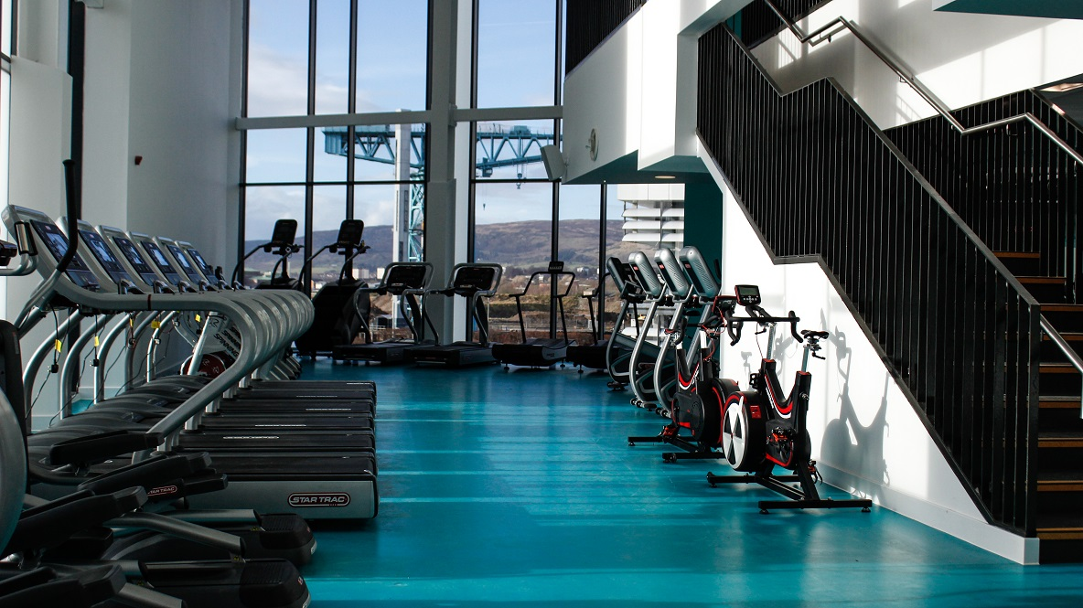 image of View of the Gym