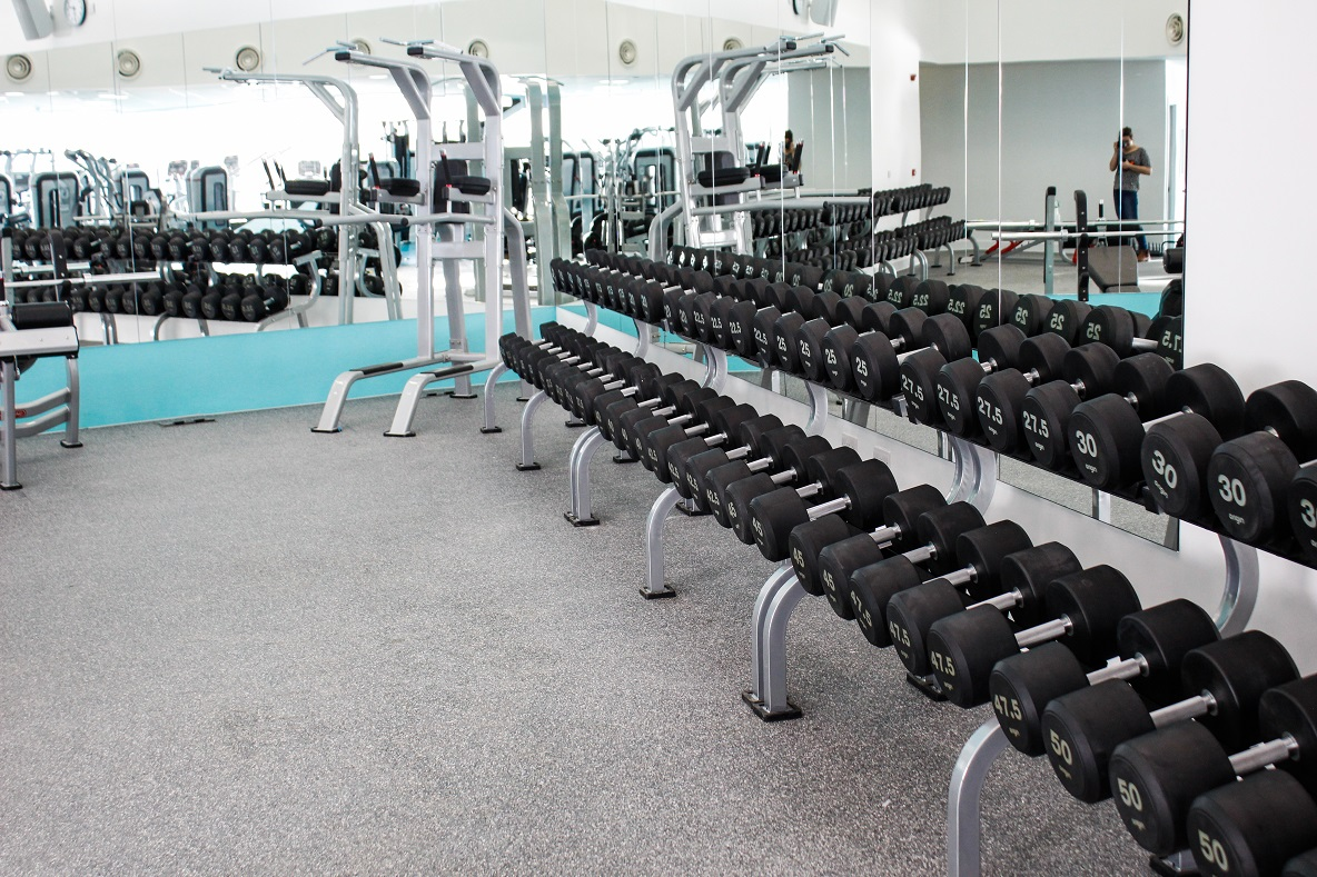 image of Weights in the gym