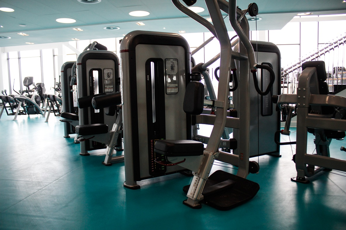 image of Gym machines