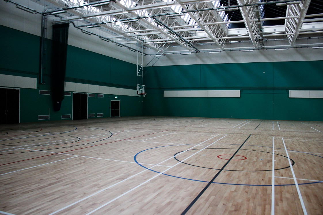 View of the sports hall 20