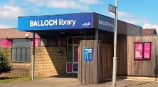 Outside image of Balloch Library