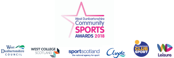 West Dunbartonshire Community Sports Awards and sponsors logos