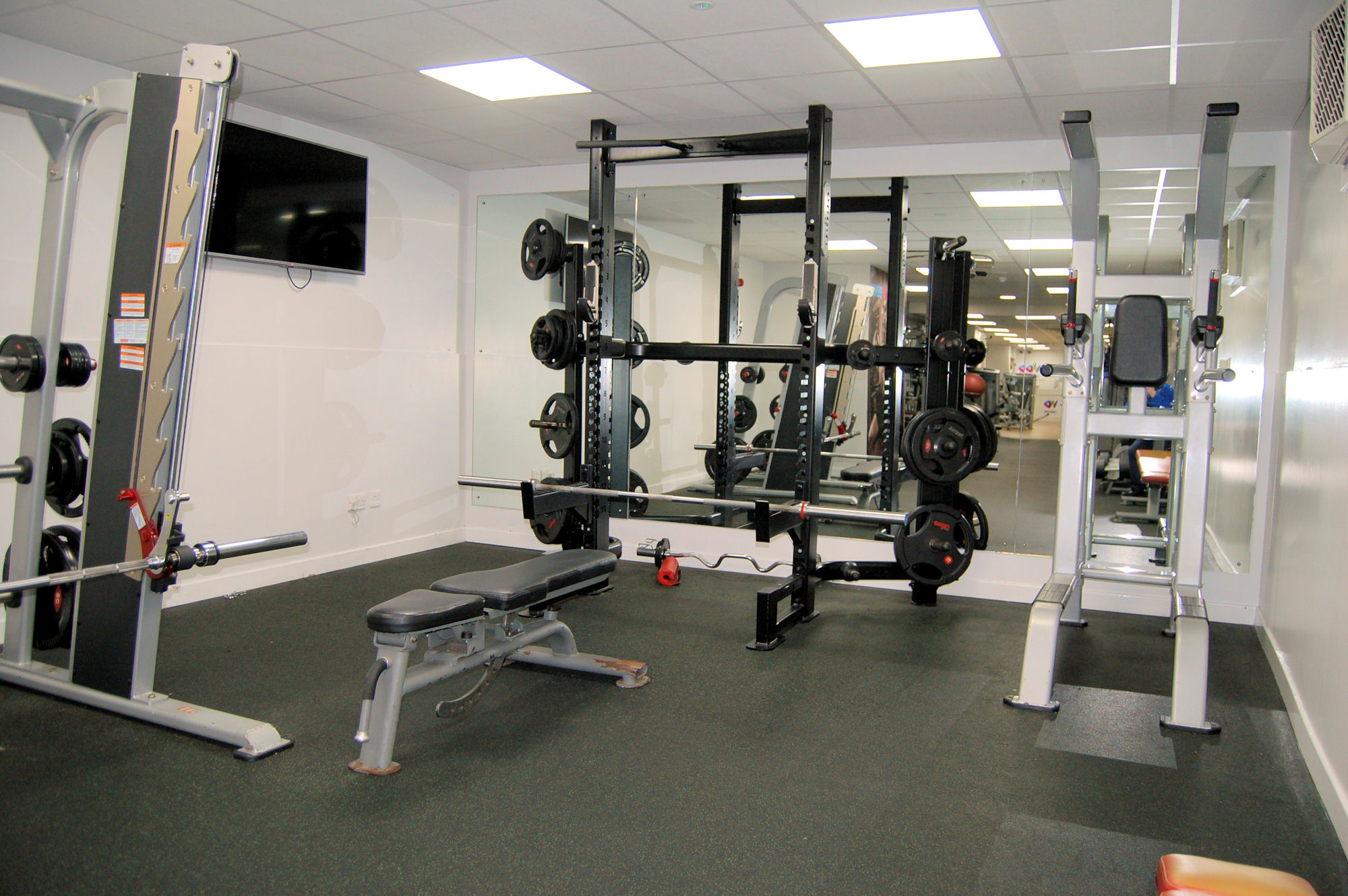 image of Dumbbells at Vale Pool gym