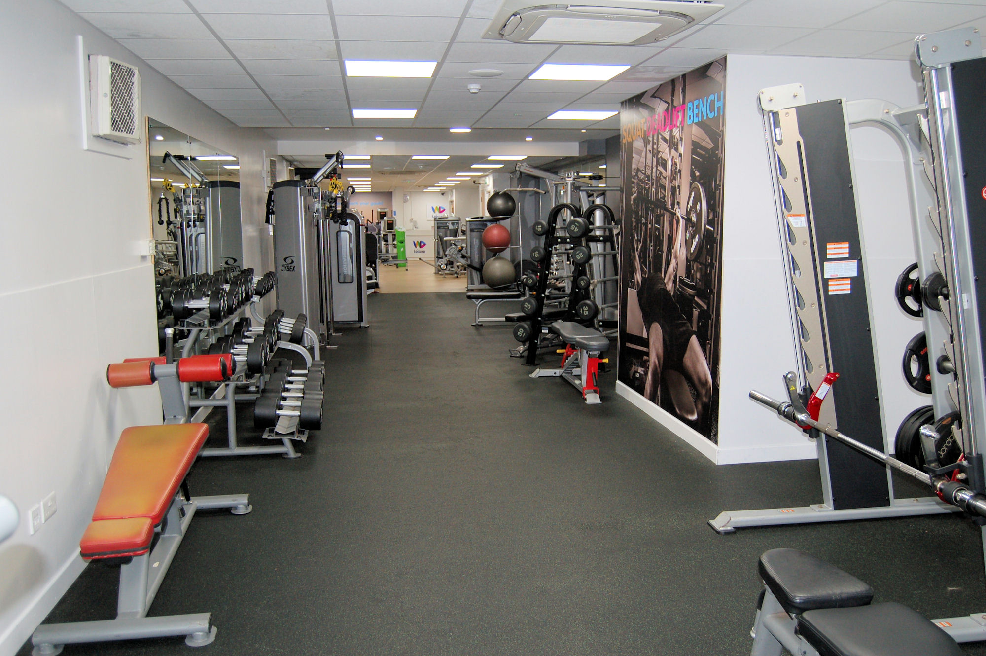 image of Fitness equipment at Vale Pool