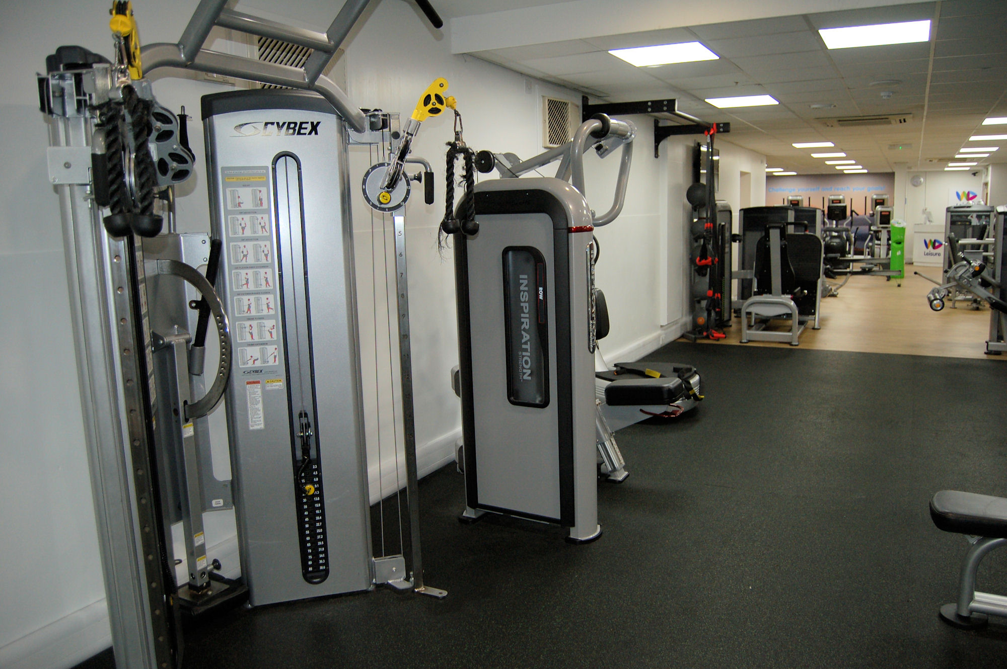 image of Gym equipment at Vale Pool