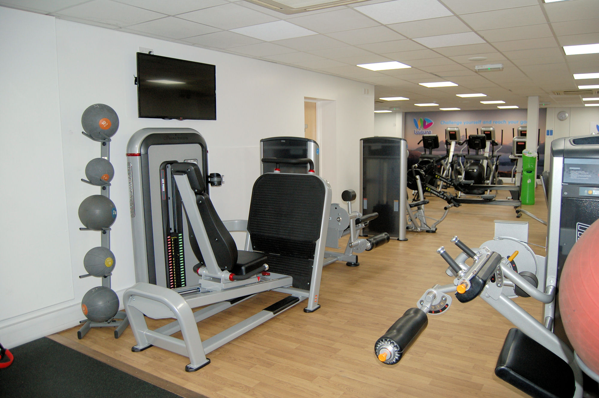 image of Fitness and gym equipment