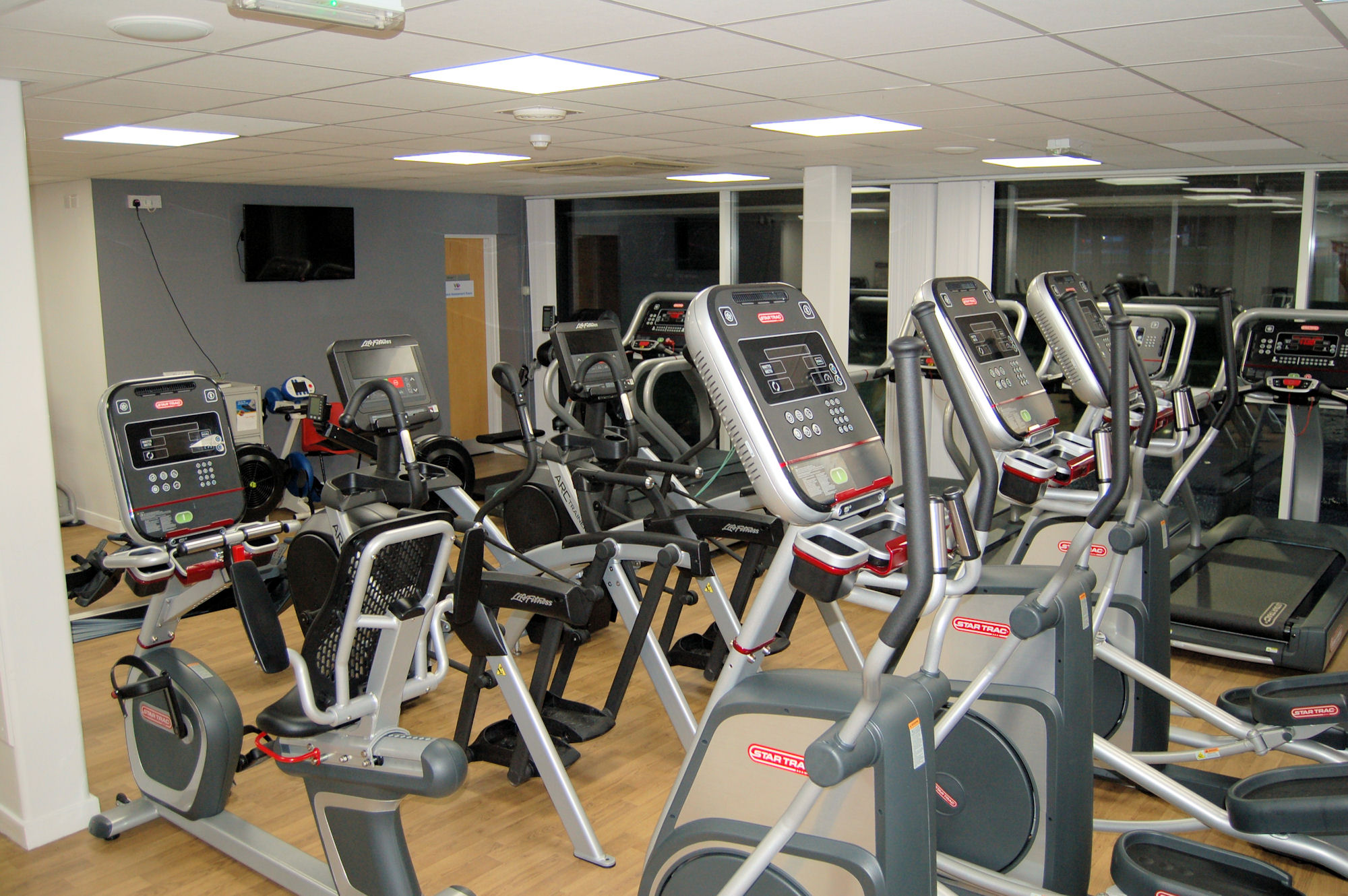 image of Fitness equipment at the Vale Pool