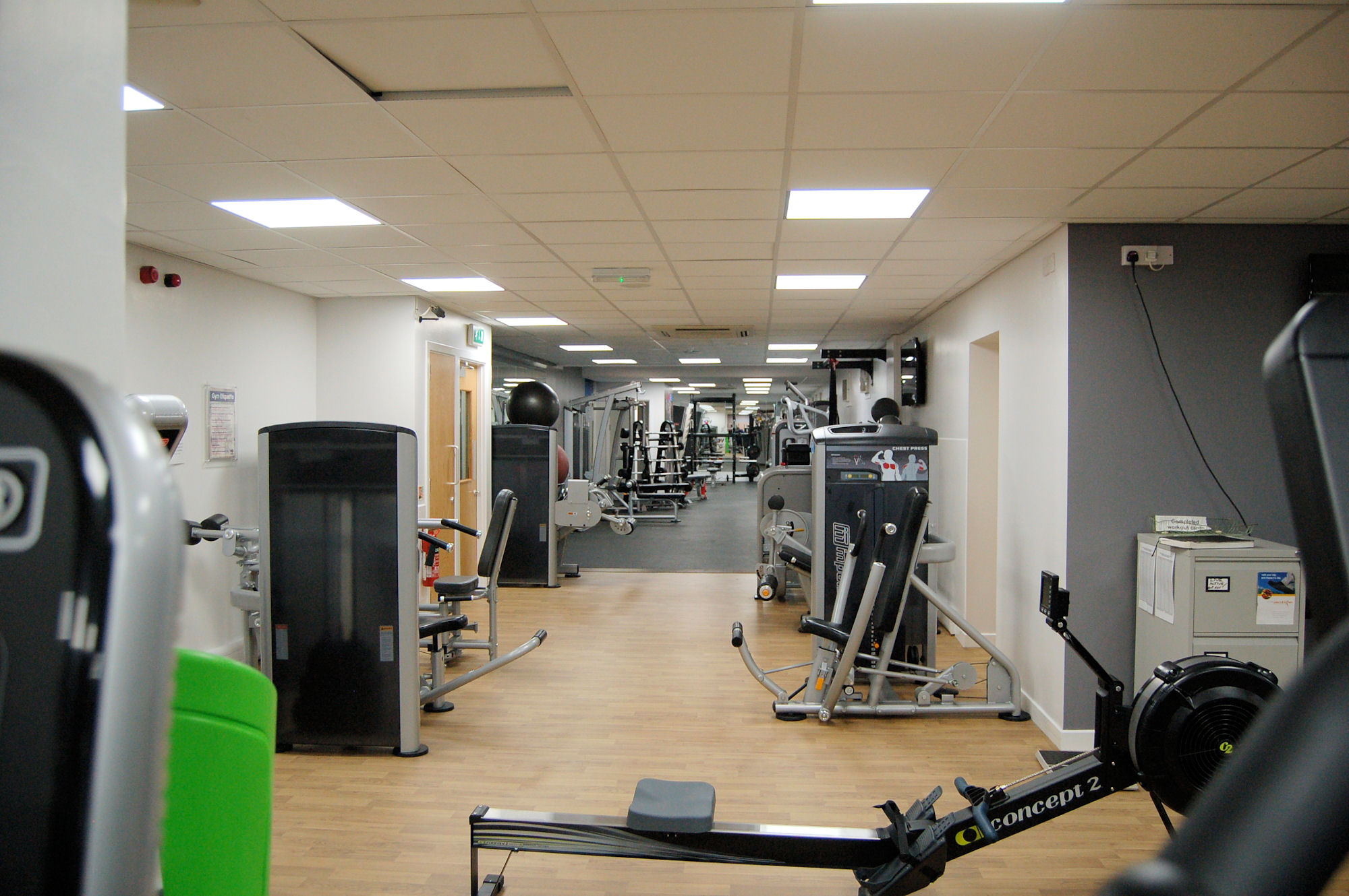 image of Fitness area at the Vale Pool