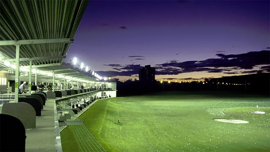 Great Western Golf - flood lit driving range