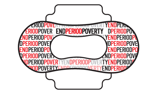 End Period Poverty Sanitary Towel advert