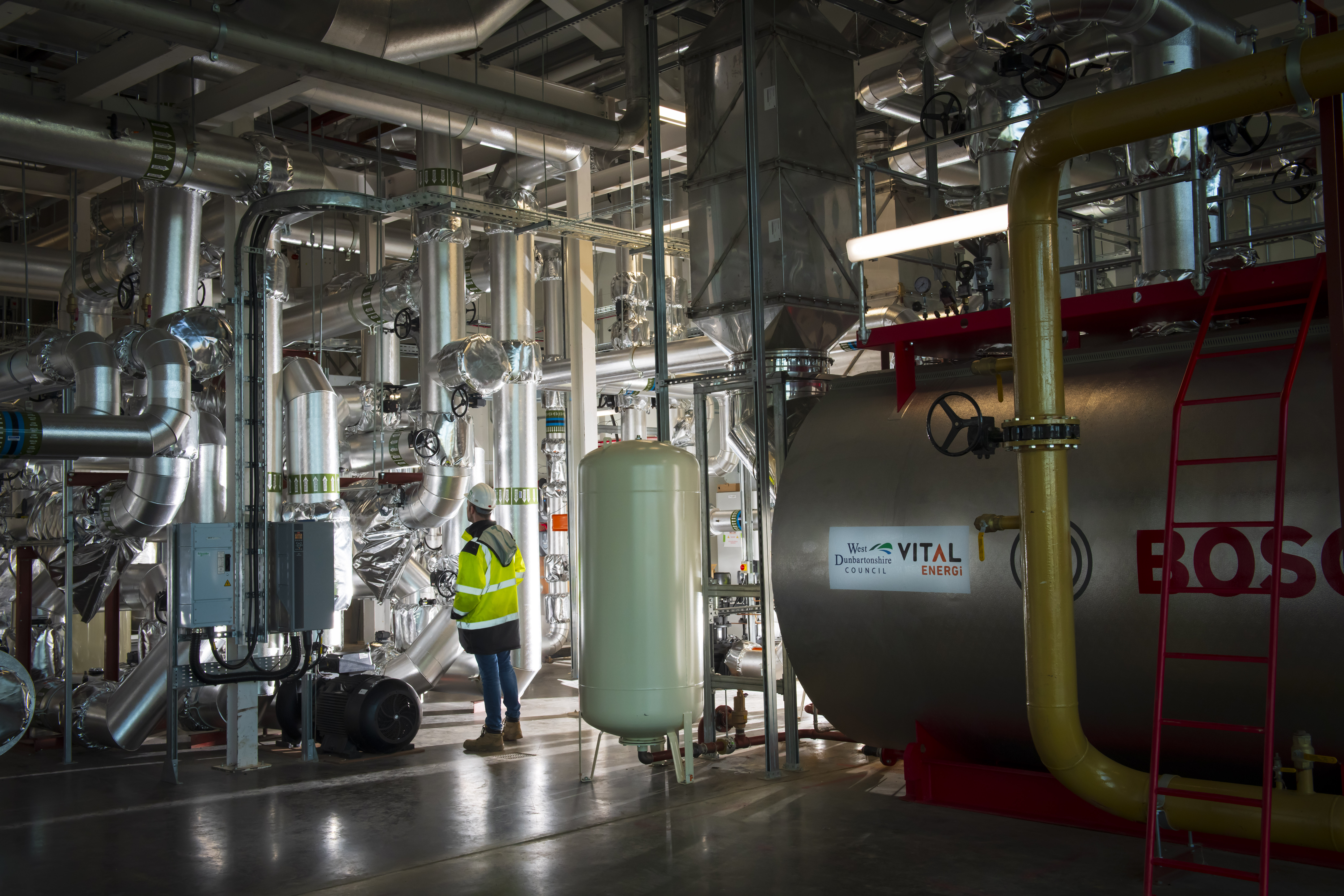 Pioneering District Heating Network now heating Clydebank